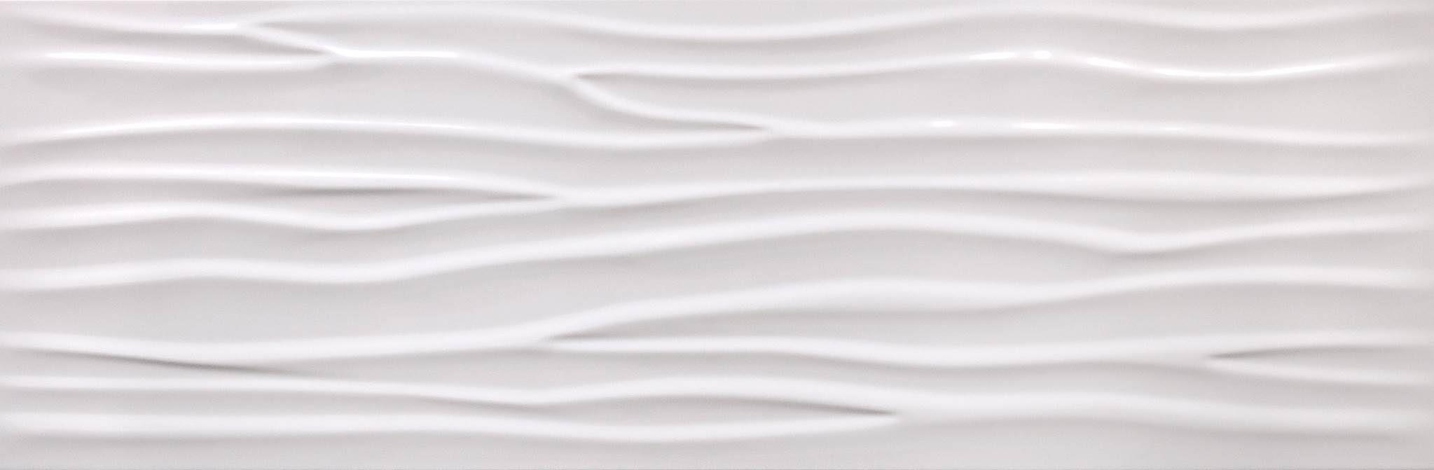 295 X 900 CIFRE GLACIAR WAVE WHITE BRILLO (0,79 M2) XXX